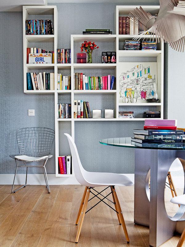 creative wall shelf