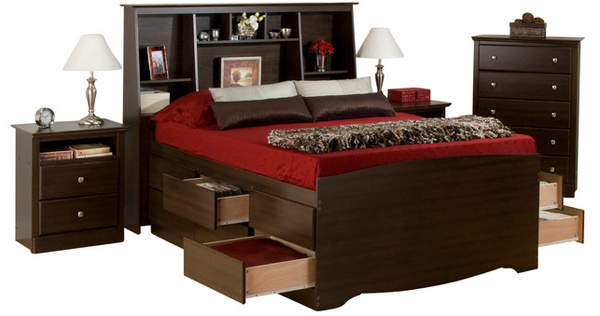 wood bedrooms set