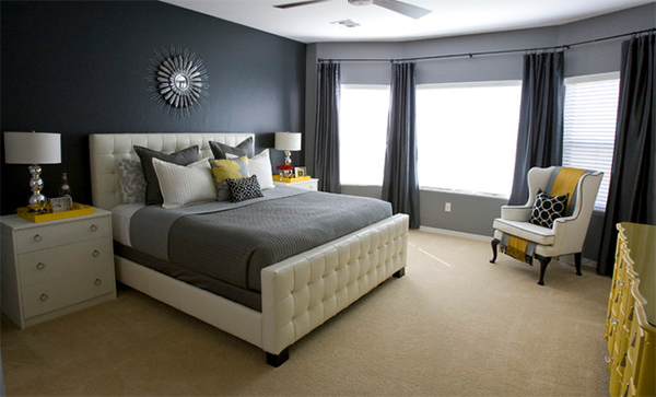 Michelle's Grey Master Bedroom