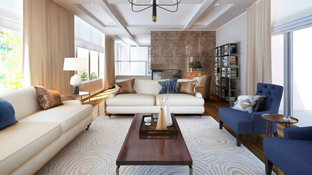 20 Nifty Living Rooms With Bronze Accents Home Design Lover