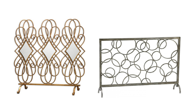 20 Gorgeous Home Decors Contemporary Fireplace Screens Home Design Lover