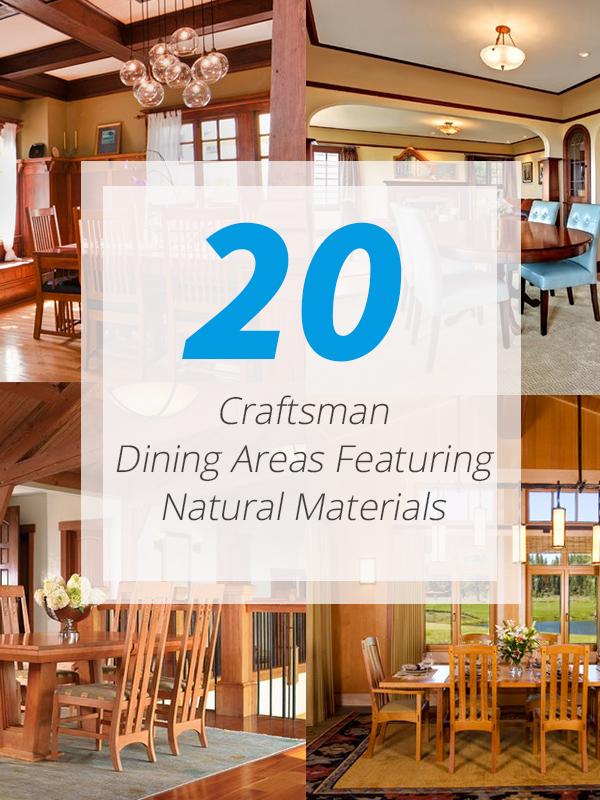 craftsman dining area