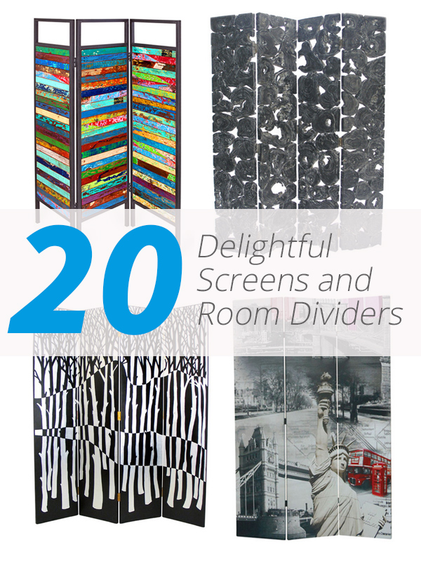 20 Delightful Screens and Room Dividers as Art Furniture Home