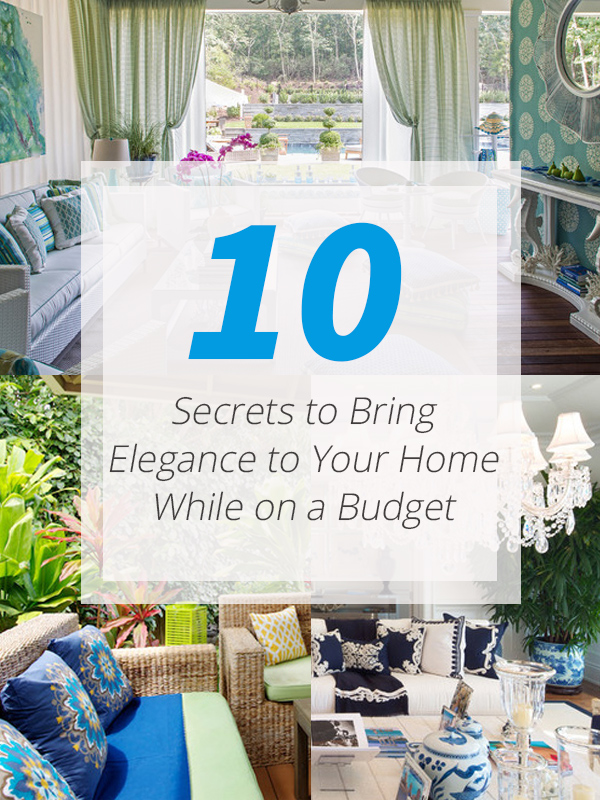 elegant home tips