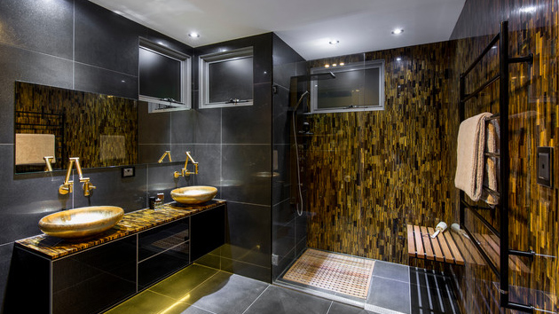 gold bathroom ideas here are 20 ideas to add gold in your bathroom home 11890