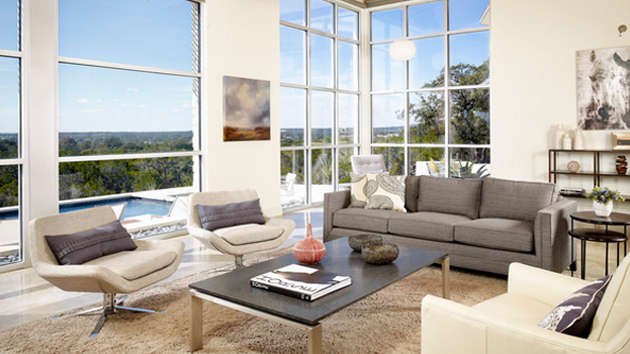 20 Gorgeous Grey Sofa in the Living Room Home Design Lover