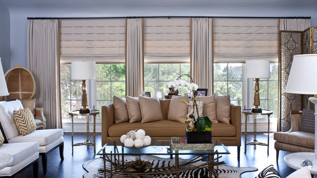 20 Living Areas Charmed With Simple Roman Shades Home