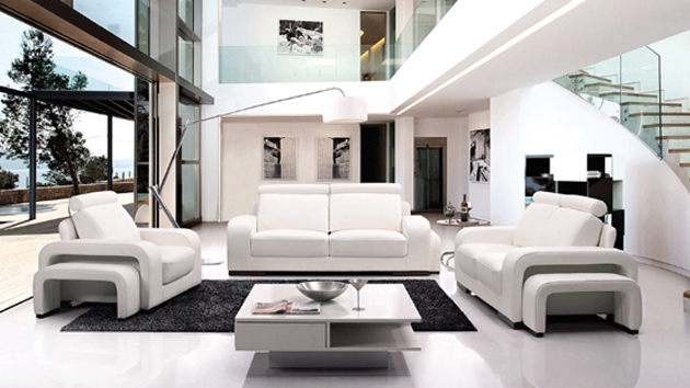 white furniture in living room 20 stunning white leather living room furniture home 23619