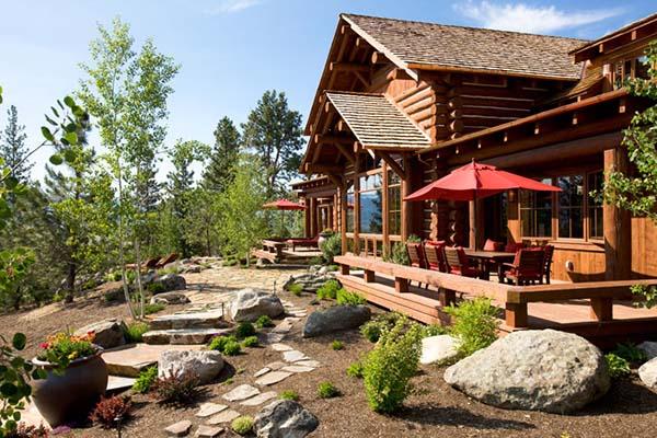 Tunken Pioneer Log Montana