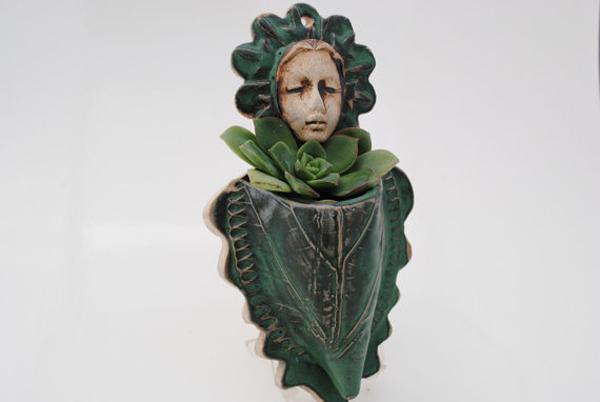 Sculptural Plant Holder