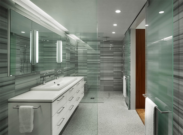 22 Neat Contemporary White Bathroom Vanity Home Design Lover