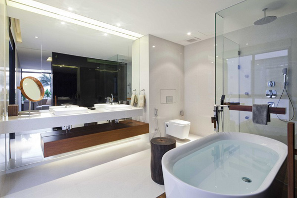 luxury bathroom sink