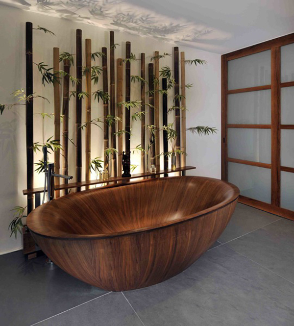 Bamboo Tiles For Bathroom: 20 Neat Bamboo-Themed Bathrooms