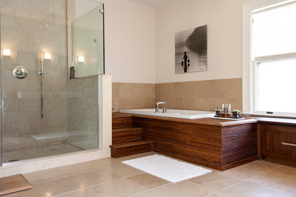 Home Spa Design Ideas: 20 Neat Bamboo-Themed Bathrooms