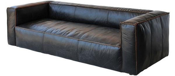black living room furnitures