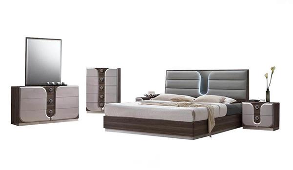 London Modern Bedroom Set