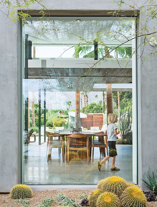 Floor-to-ceiling glass windows