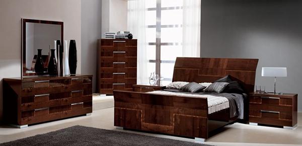 Pisa 5 Piece Bedroom Set
