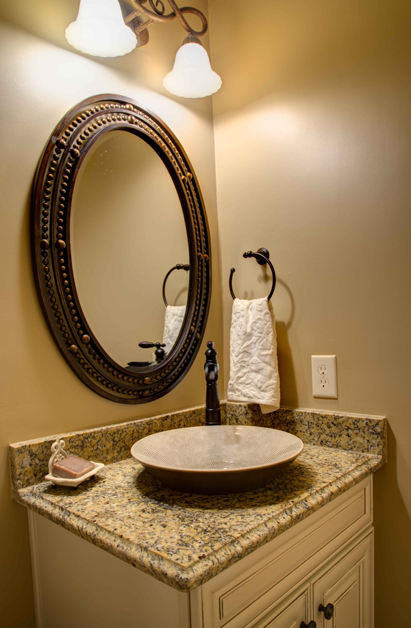 20 Captivating Bronze Accents In Powder Rooms Home