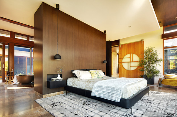 wood headboard design