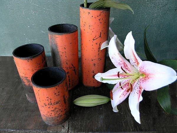 PVC Pipes Vases