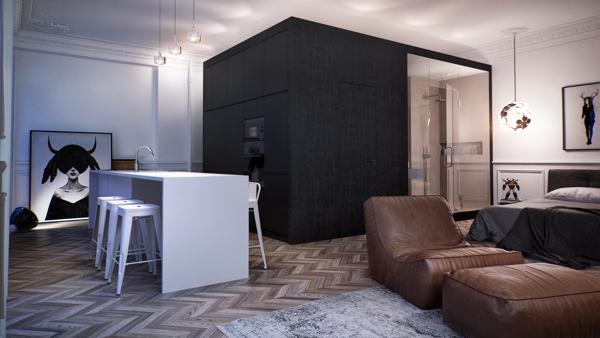 Russia home design.