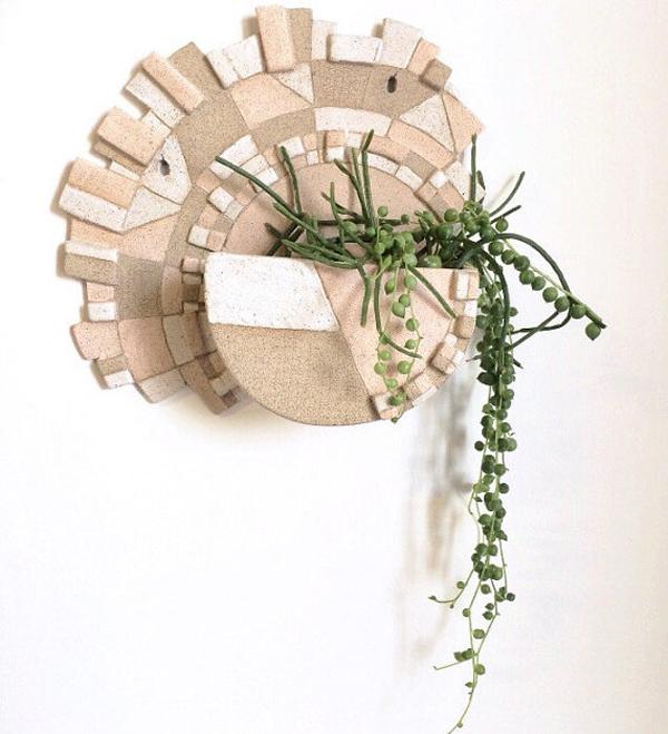 Geometric plant holder