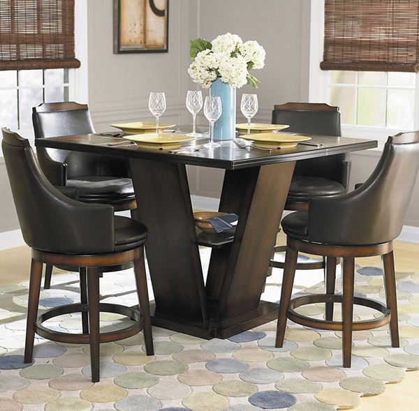 Bayshore 5 Piece Counter Height Dining furniture