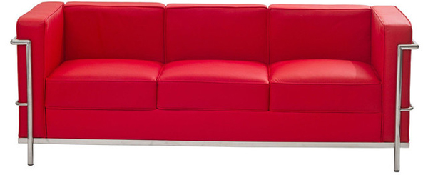 20 Ravishing Red Leather Living Room Furniture Home Design Lover