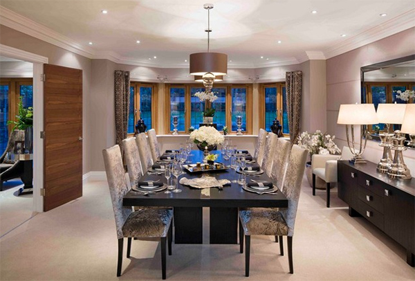 fulmer grange by oakeve interiors - Carpeted Dining Room