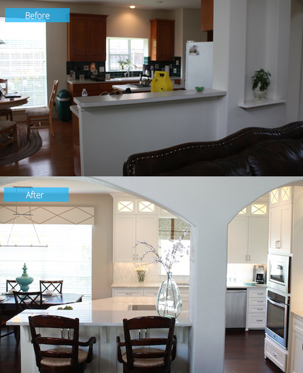 Before And After: Connell Kitchen Renovation In Dallas
