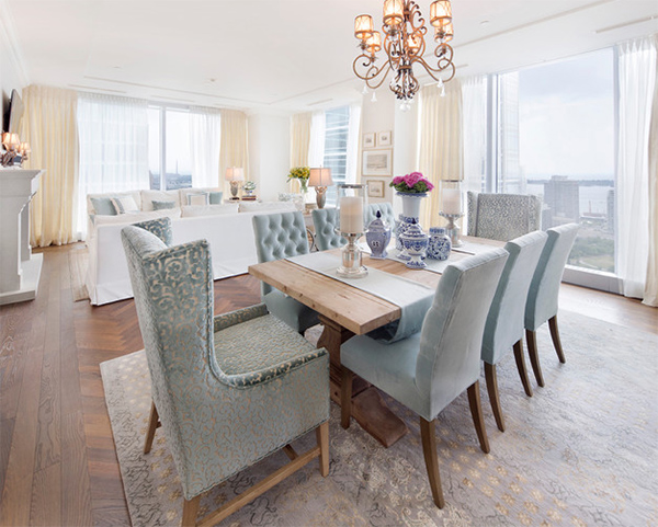 20 Transitional Dining Rooms with Carpeted Flooring | Home Design Lover