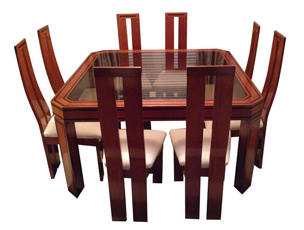 Brazilian Octagonal Dining Set - Table & 8 Chairs