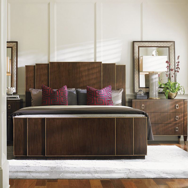 Tower Place Fairmont  Panel Bedroom Collection