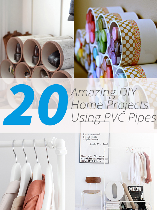 20 Amazing DIY Home Projects Using PVC Pipes | Home Design r on engineering design projects, home diy lighting, fashion design projects, furniture design projects,