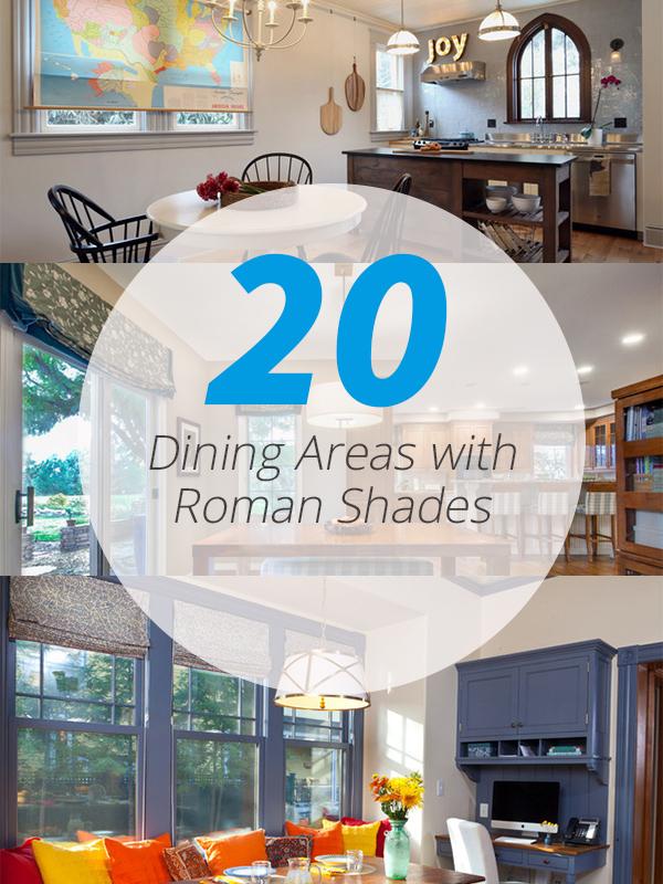 roman shades dining