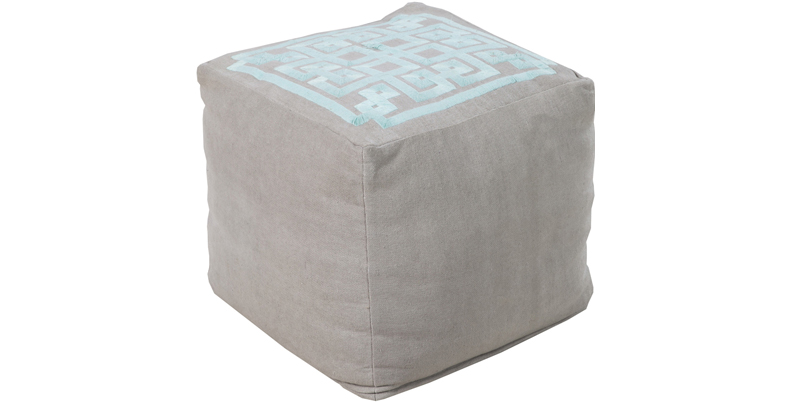 Fluffy Cube Poufs