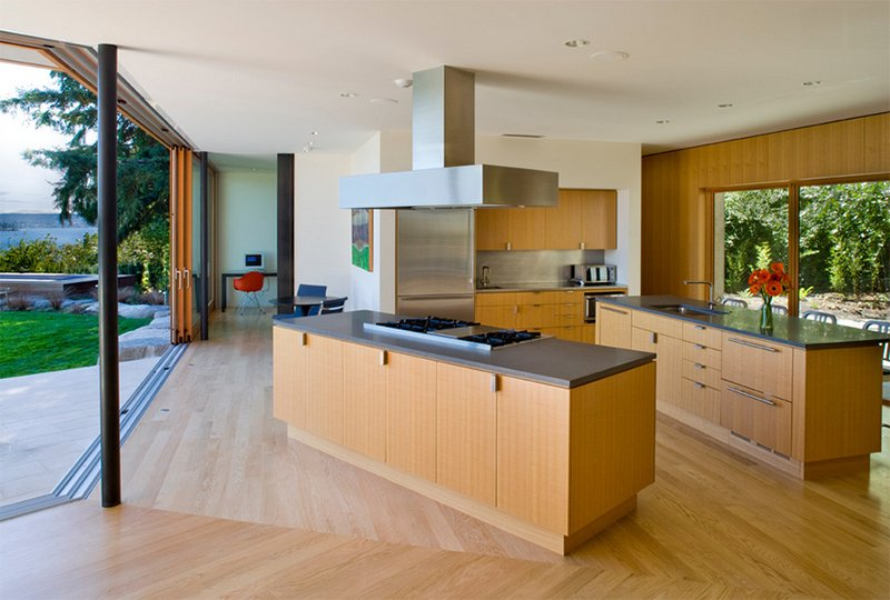 25 Contemporary Two-Island Kitchen Designs Every Cook Wants to Own ...