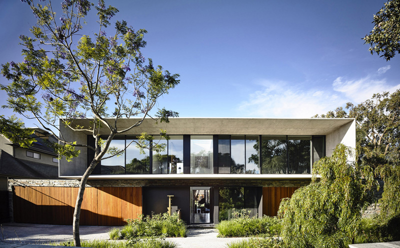Concrete House in Melbourne