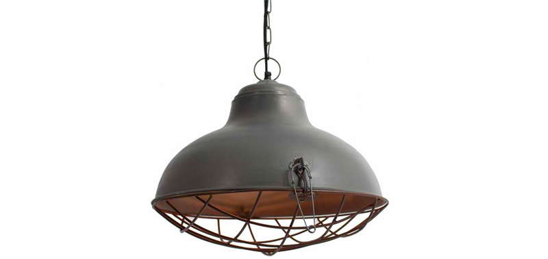 Rustic lamp design
