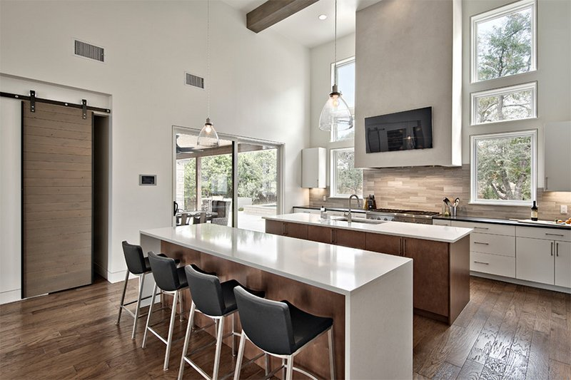 25 Contemporary Two Island Kitchen Designs Every Cook Wants To Own Home Design Lover,What Goes Well With Blue Clothes