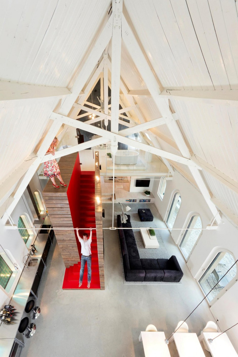 Dutch Church Loft interior