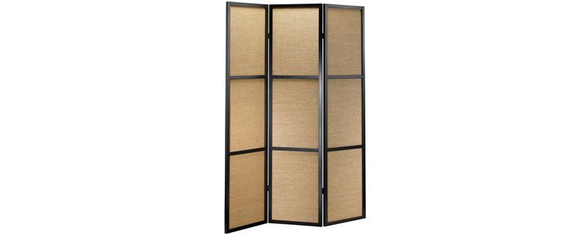 brown Folding Screen