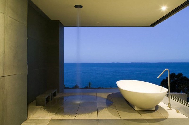 Cliff House shower