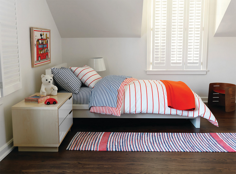 Kids stripe Bedroom