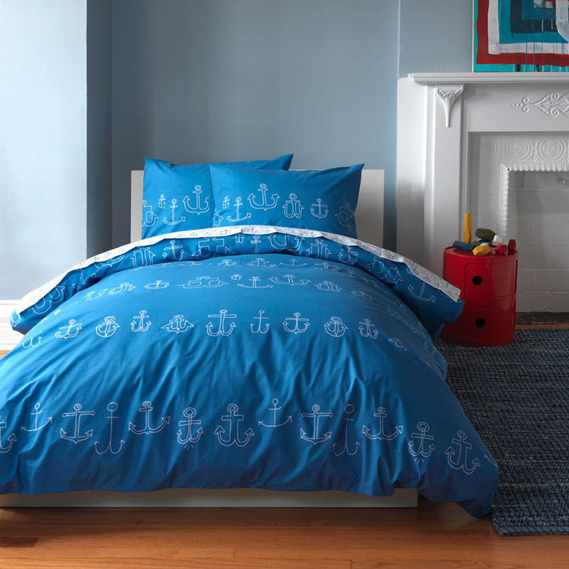 nautical themed duvet set