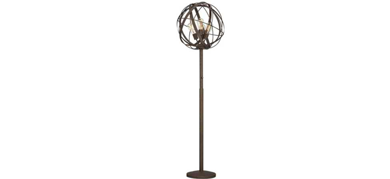 Weave Industrial Floor Lamp