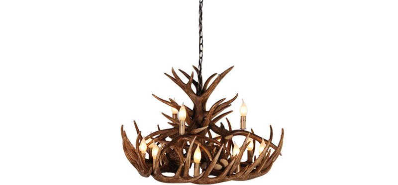 20 gorgeous brown antler chandeliers home design lover brown antler chandeliers aloadofball Gallery