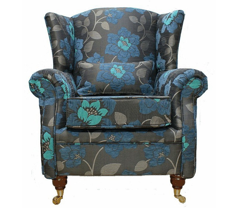 feminine design wingback chair