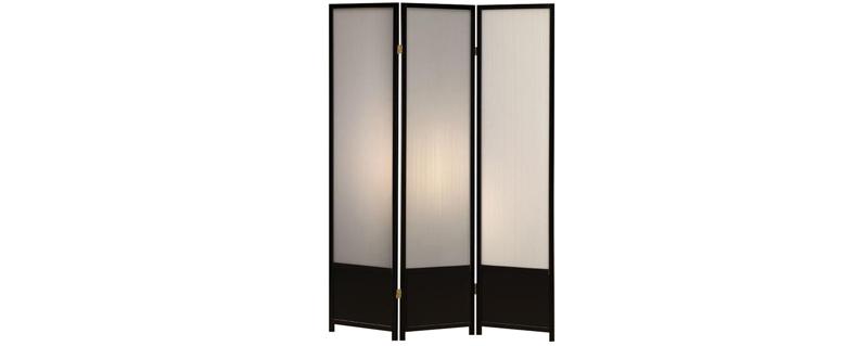 Black Translucent Shoji Room